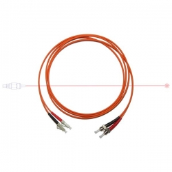 Kabel patchcord ST-LC/PC 50/125 duplex 15m